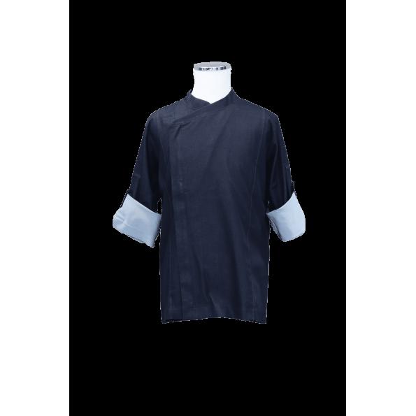 都會Lycrk廚師服-深藍(SYT0005)