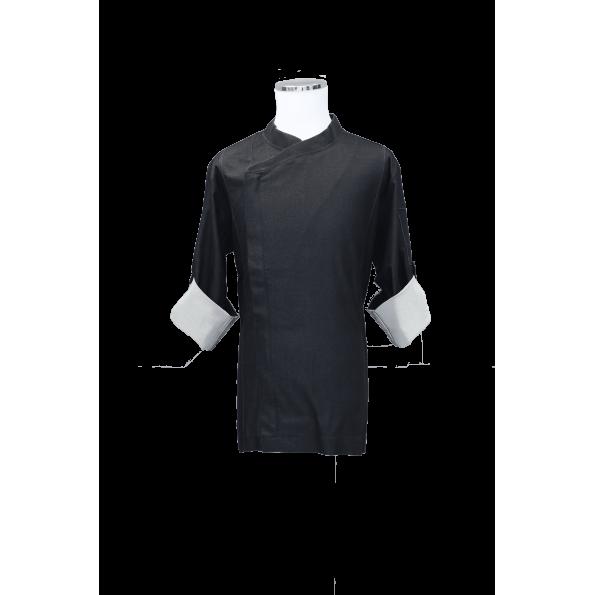 都會Lycrk廚師服-黑(SYT0006)