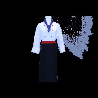 sy涼感拉鍊廚師服(SYT0002)